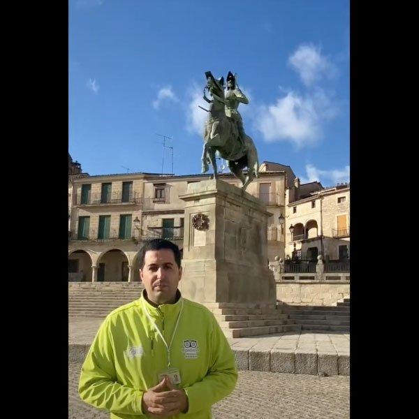 Estatua de Pizarro en Trujillo - Destino Trujillo