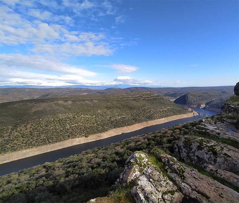 Vistas de Monfragüe desde el Castillo - Destino Trujillo