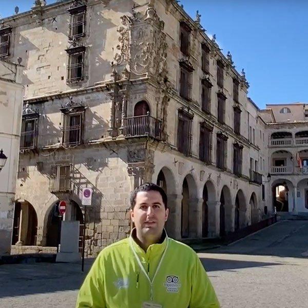 Palacio del Marqués de la Conquista en Trujillo - Destino Trujillo